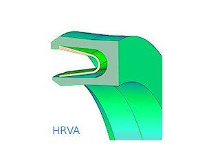 Rúdtömítés, horonygyűrű, PTFE - HRVA