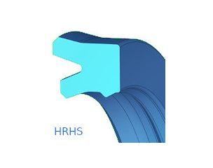 Rúdtömítés, horonygyűrű szekunder tömítőéllel - HRHS