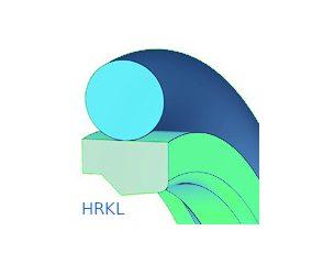 Rúdtömítés, kétrészes, lépcsős - HRKL