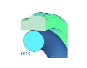 Dugattyútömítés, kétrészes, lépcsős - HDKL