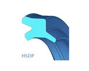 Szennylehúzó, dupla, poliuretánból - HSDP