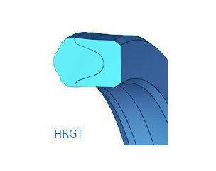 Rúdtömítés, gumitömítés támasztógyűrűvel - HRGT