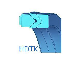 Dugattyútömítés, tetőkarmantyús, készlet - HDTK