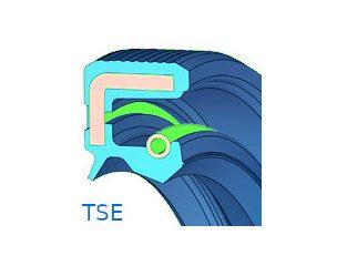Szimering, gumiházas, porvédő ajakkal - TSE